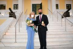Μαριάννα Β. Βαρδινογιάννη, Γιώργος Παναγόπουλος