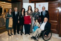 Μπελέν ντε λα Μορένα Κοδέλλα, Ανδρέας Ποταμιάνος, Μαρίζα Οικονόμου, Όλγα Δασουρά, Βούλα Κοζομπόλη, Μαριάννα Β. Βαρδινογιάννη, Διονύσιος Κοδέλλας, Γιώργος Φουντουλάκης με την κόρη του Φαίδρα
