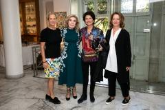 Kerry Kennedy,  Μαριάννα Β. Βαρδινογιάννη, Άλκηστις Πρωτοψάλτη, Τώνια Δραγούνη