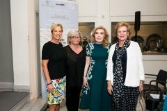 Kerry Kennedy , Annika Savill,  Μαριάννα Β. Βαρδινογιάννη , Βασίλισσα Άννα Μαρία