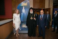 Μαριάννα Β. Βαρδινογιάννη,  Μακαριώτατος Πατριάρχης Αλεξάνδρειας και Πάσης Αφρικής Θεόδωρος Β,  Mostafa El Feki