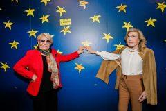 Μαρινέλλα και Μαριάννα Β. Βαρδινογιάννη στον Τοίχο των Αστεριών της ΕΛΠΙΔΑΣ