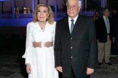 Η Μαριάννα Β. Βαρδινογιάννη υποδέχεται τον Πρόεδρο της Δημοκρατίας