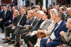 """Στιγμιότυπο από την εκδήλωση στο Ζάππειο τον Οκτώβριο του 2019 για την έναρξη των επετειακών εκδηλώσεων """"Θερμοπυλες-Σαλαμίνα 2020"""""""