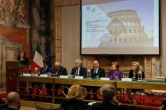 Η Πρόεδρος της Ιταλικής Γερουσίας Maria Elisabetta Casellati κατά την διάρκεια της ομιλίας της