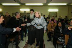 Στιγμιότυπα από την παρουσία της κυρίας Βαρδινογιάννη στην εκδήλωση της Ι. Μ. Νικαίας