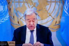 Ο ΓΓ της ΓΣ του ΟΗΕ  Antonio Guterres
