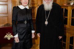 Μαριάννα Β. Βαρδινογιάννη, Αρχιεπίσκοπος Ιερώνυμος