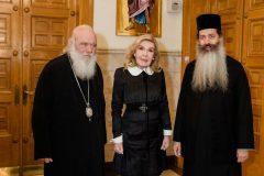 Μαριάννα Β. Βαρδινογιάννη, Αρχιεπίσκοπος Ιερώνυμος, Μητροπολίτης Φθιώτιδος Συμεών