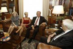 Μαριάννα Β. Βαρδινογιάννη, Kerry Kennedy, Ted Kennedy, Προκόπιος Παυλόπουλος