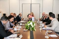 """Στιγμιότυπα από τη συνάντηση των Μελών του ΔΣ του Αλεξανδρινού Κέντρου Ελληνιστικών Σπουδών"""" της Βιβλιοθήκης της Αλεξάνδρειας, στην Αθήνα, την Δευτέρα 26 Αυγούστου"""