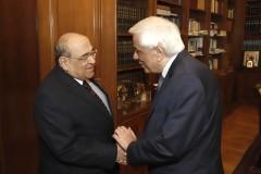 Ο Πρόεδρος της Δημοκρατίας υποδέχεται τον Δρα Mostafa El Feki