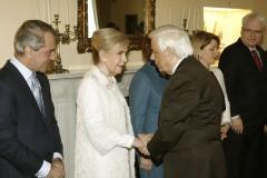 Η Μαριάννα Β. Βαρδινογιάννη με τον Πρόεδρο της Δημοκρατίας