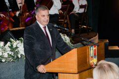 Ο Περιφερειάρχης Αττικής κος Γιώργος Πατούλης κατά τη διάρκεια της ομιλίας του