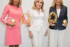 Brigitte Macron, Μαριάννα Β. Βαρδινογιάννη, Μαρέβα Μητσοτάκη